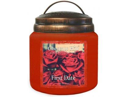 Chestnut Hill Candle svíčka První rande - First Date, 454 g