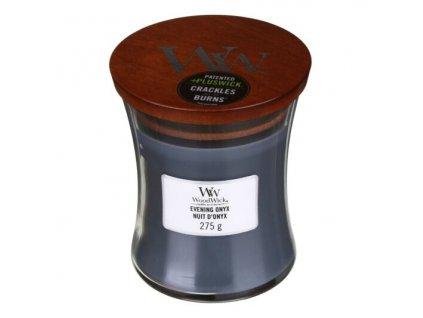 WoodWick Svíčka Evening Onyx váza střední, 275 g