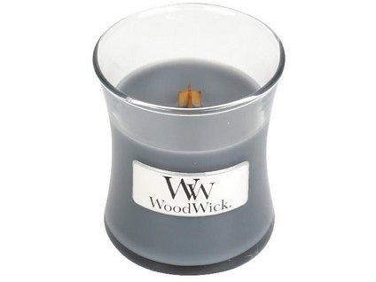Woodwick svíčka malá Evening Onyx, 85 g