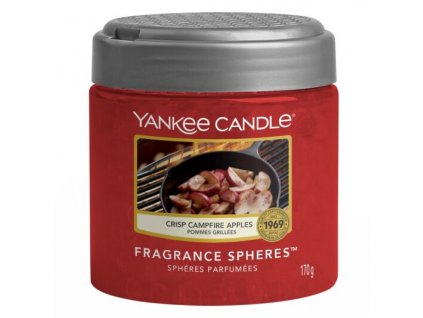 Yankee Candle Crisp Campfire Apples Voňavé perly Spheres, 170 g