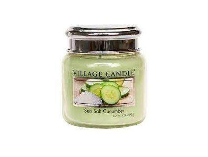 Village Candle Vonná svíčka Mořská Svěžest - Sea Salt Cucumber, 92 g