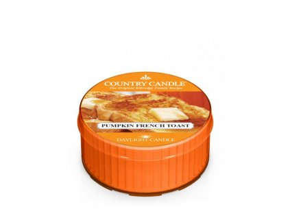 Country Candle Vonná Svíčka Pumpkin French Toast, 35 g