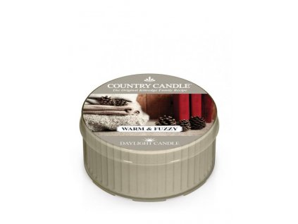 Country Candle Vonná Svíčka Warm and Fuzzy, 35 g