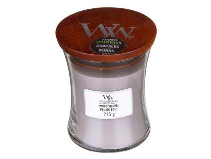 WoodWick Svíčka Wood Smoke váza střední, 275 g