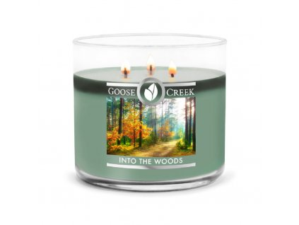 Goose Creek Candle svíčka Into the Woods, 411 g