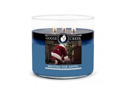 Goose Creek Candle svíčka Waiting For Santa, 411 g
