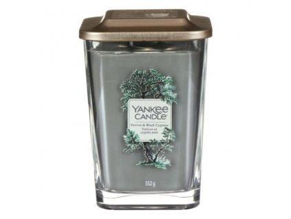 Yankee Candle Svíčka Elevation Vetiver & Black Cypress velká, 553 g