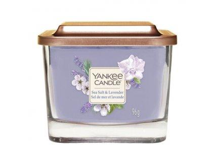 Yankee Candle Svíčka Elevation Sea Salt & Lavender malá, 96 g