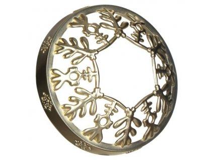 Yankee Candle Snowflake Frost ozdobný prstenec na svíčku