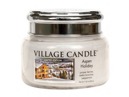 Village Candle Vonná svíčka Aspen Holiday, 262 g