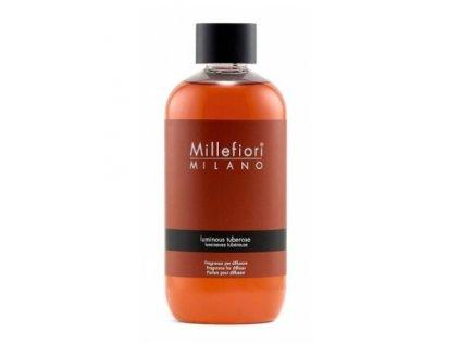 Millefiori Milano Natural náplň do aroma difuzéru Luminous Tuberose, 250 ml