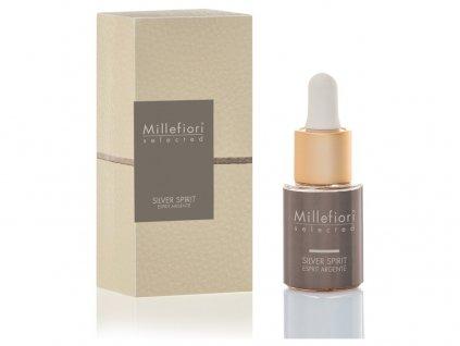 Millefiori Selected Silver Spirit aroma olej 15 ml