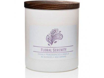 Colonial Candle svíčka Wellness Floral Serenity, 453 g
