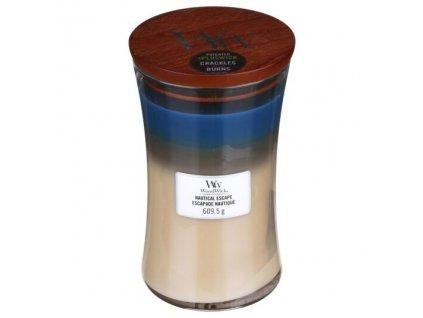 WoodWick Trilogy Nautical Escape Svíčka váza velká, 609,5 g