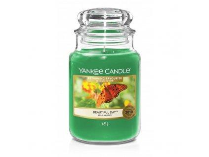 Yankee Candle Vonná Svíčka Beautiful Day classic velký, 623 g