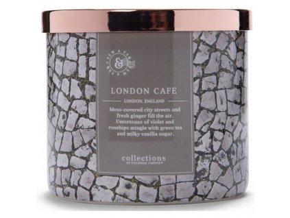 Colonial Candle svíčka Travel London Café, 411 g