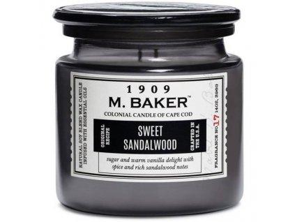 pol pm Colonial Candle M Baker duza sojowa swieca zapachowa w sloju 14 oz 396 g Sweet Sandalwood 8120 7