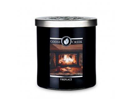 goose creek candlez fireplace mens collection tumbler 453g