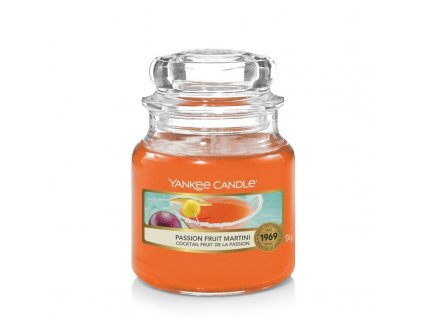 yankee candle passion fruit martini small jar