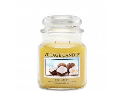 Village Candle Vonná svíčka Den na pláži - Soleil All Day, 389 g