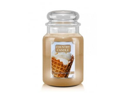 pol pl Country Candle Salted Waffle Cone Duza Swieca Zapachowa 652g 6363 1