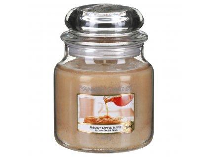 yankee candle 1631318e freshly tapped maple medium jar