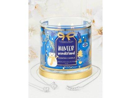 pol pm Charmed Aroma sojowa swieca zapachowa z bizuteria 12 oz 340 g Naszyjnik Winter Wonderland 8296 1