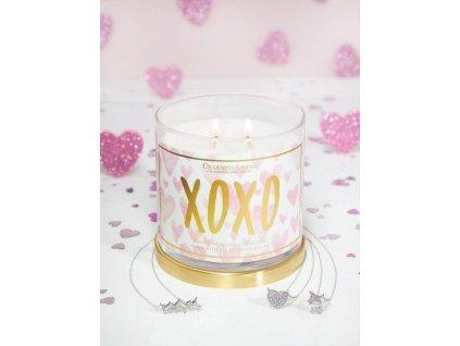 pol pm Charmed Aroma sojowa swieca zapachowa z bizuteria 12 oz 340 g Naszyjnik XOXO Buziaki 7552 1