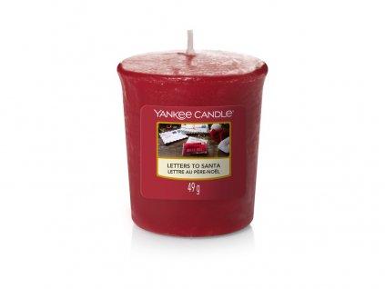 Yankee Candle Vonná Svíčka Votivní Letters to Santa, 49 g
