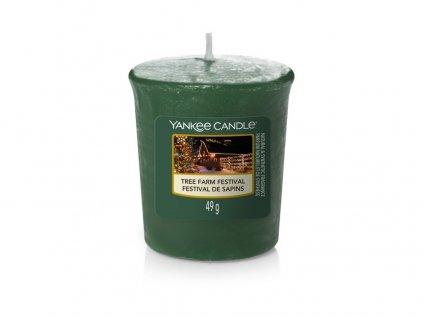 Yankee Candle Vonná Svíčka Votivní Tree Farm Festival, 49 g