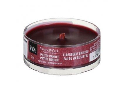 woodwick 1694642e elderberry bourbon petite candle