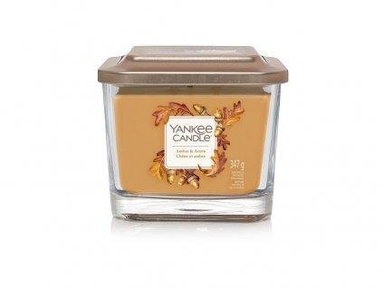 Yankee Candle Svíčka Elevation Amber & Acorn střední, 347 g