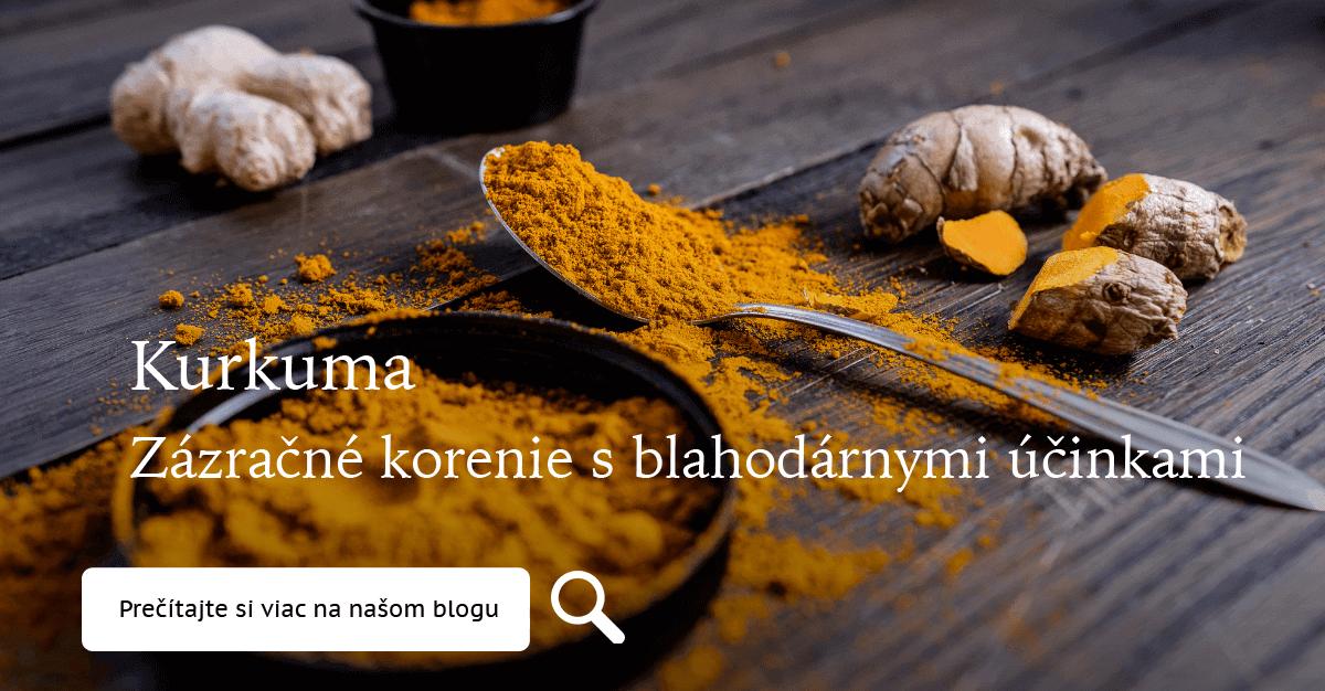 Kurkuma - zázračné korenie s blahodárnymi účinkami