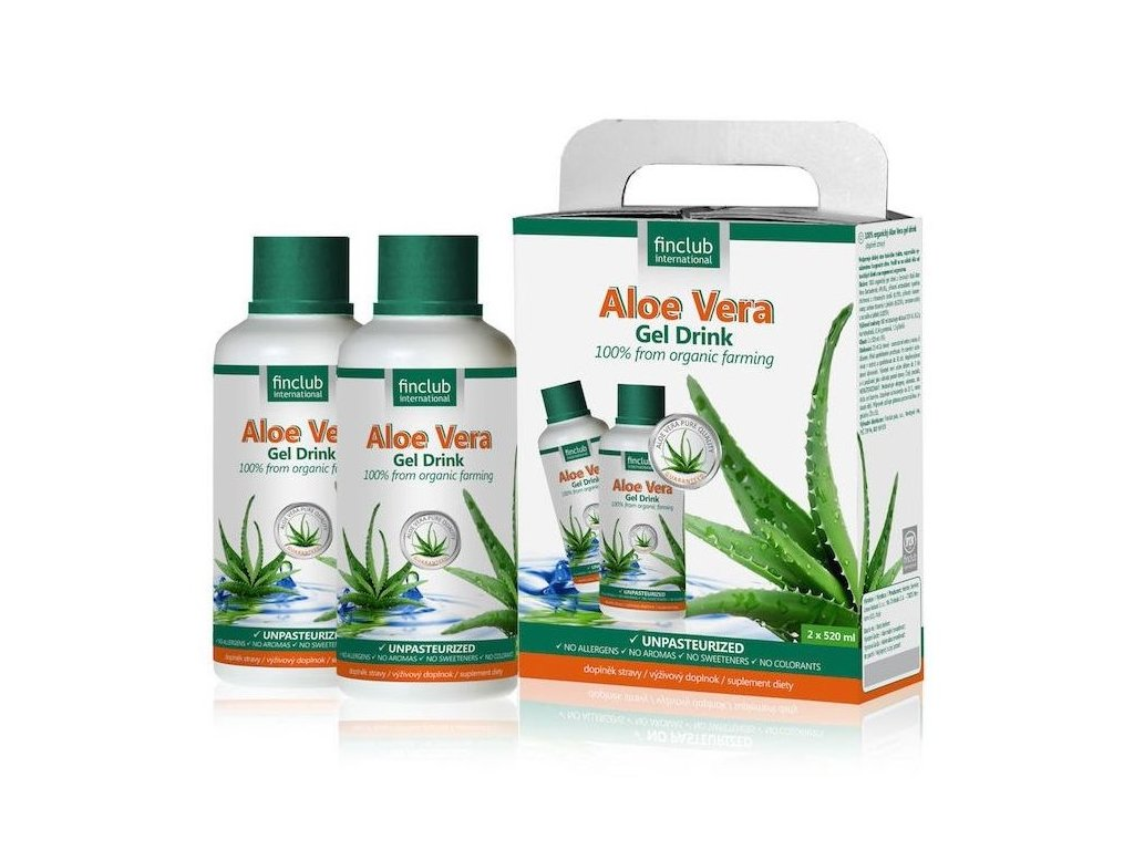 Aloe Vera Gel Drink 2x 520 ml