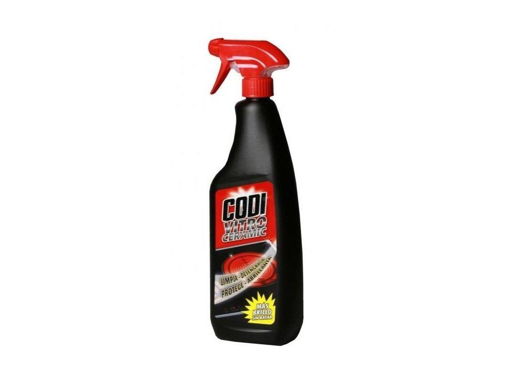 Čistič na sklokeramické dosky CODI VITROCERAMIC 750 ml