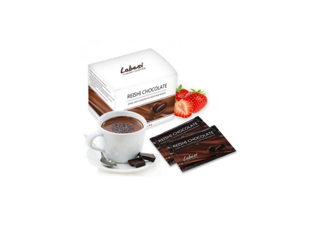 Labesi Reishi horúca čokoláda 20 sáčkov