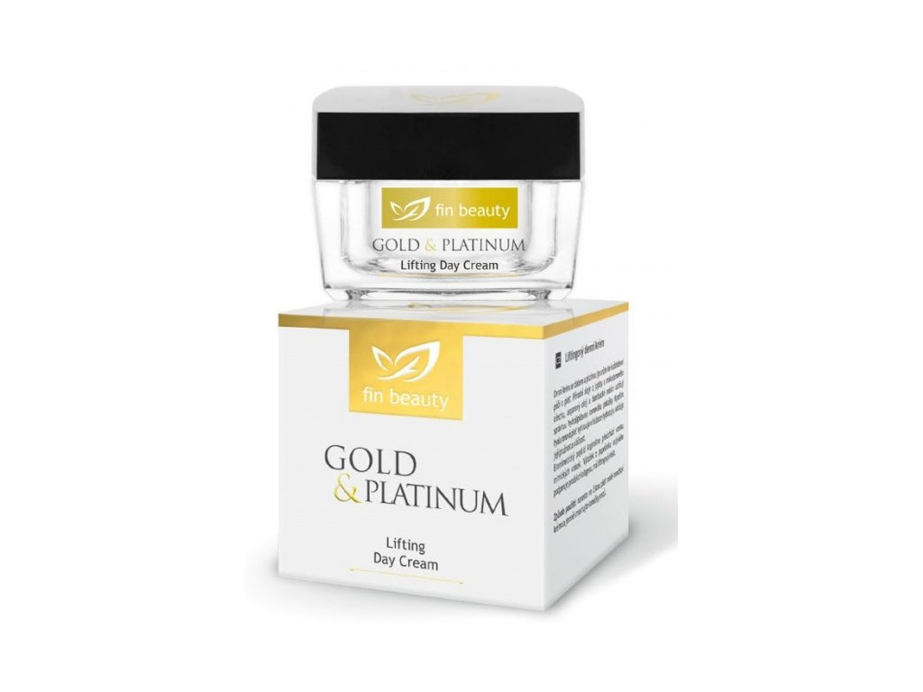 Liftingový denný krém so zlatom a platinou 50 ml