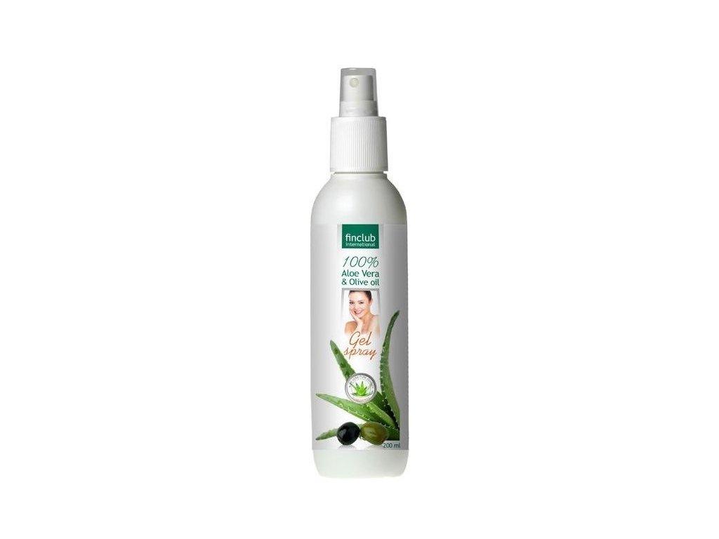 Aloe vera & Olivový olej gélový sprej 200ml