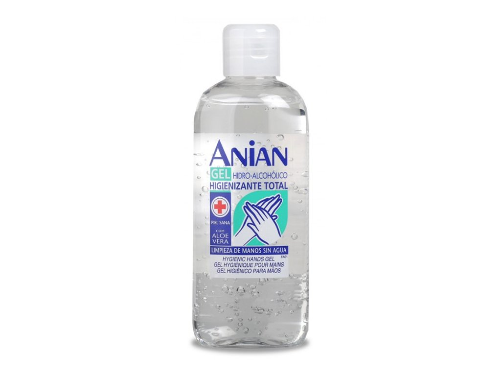 anian cistiaci gel na ruky s aloe vera 150 ml