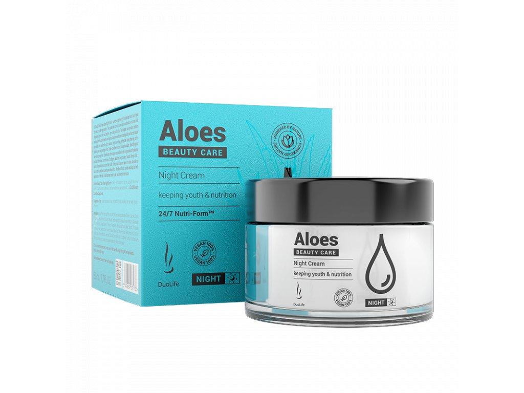 aloes beauty care nocny krem 50ml