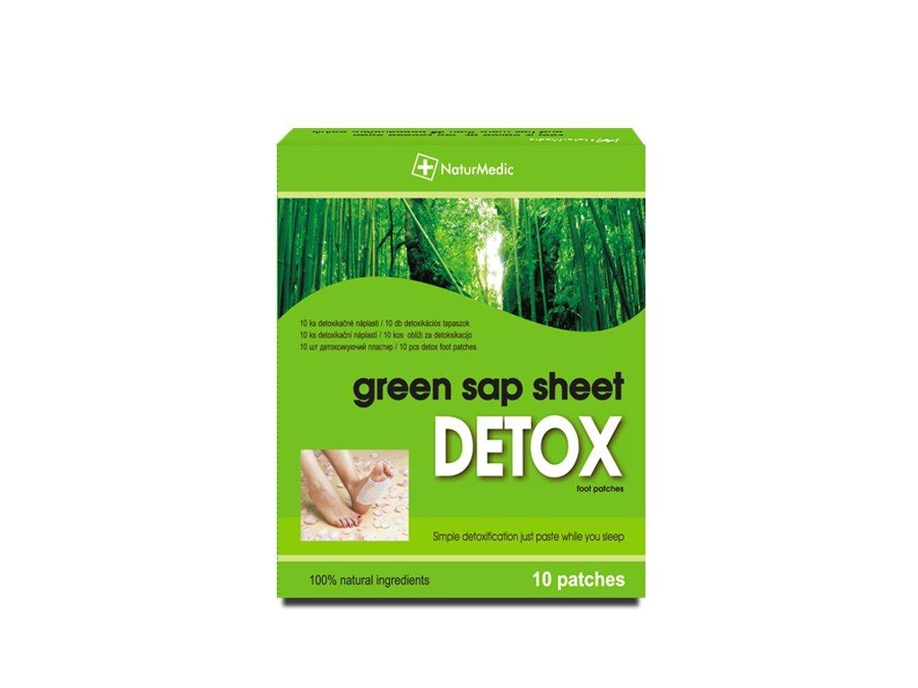 zelene detoxikacne naplasti 10ks