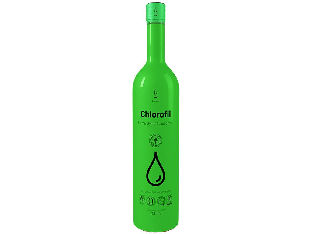 DuoLife Chlorofil trávenie 750ml