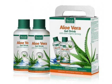 Aloe Vera Gel Drink 2x 520 ml