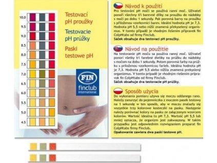 pH papieriky 2ks