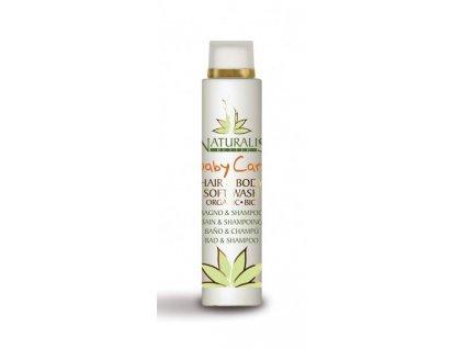 Baby Care Soft Wash detský šampón na vlasy a telo 200 ml