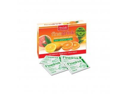 Finedrink sladený sukralózou citrón 0,2 l