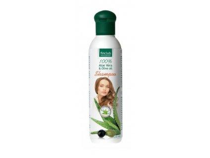 Aloe vera & Olivový olej šampón 250 ml