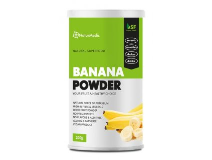 superpotravina bananovy prasok 200g