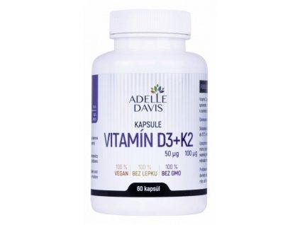 adelle davis vitamin d3k2 60kapsul