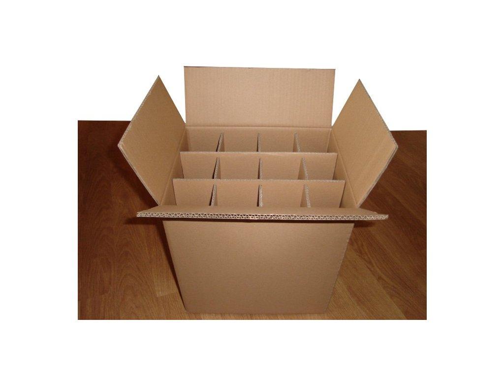 kartonova krabica na 12 vin